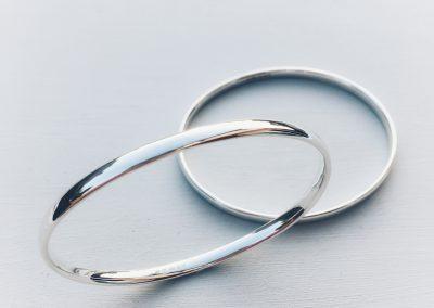Oval Bangles