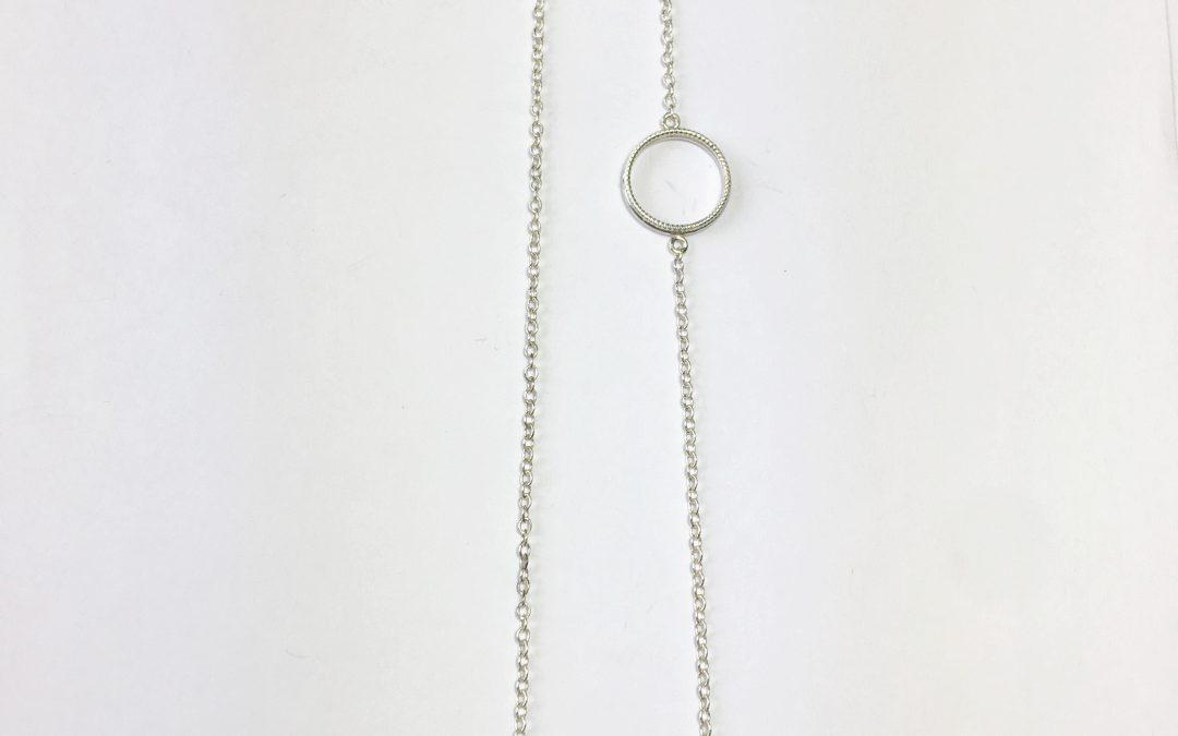 Elliptical necklace