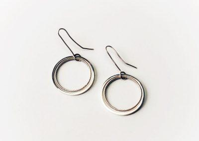 Elliptical earrings 006