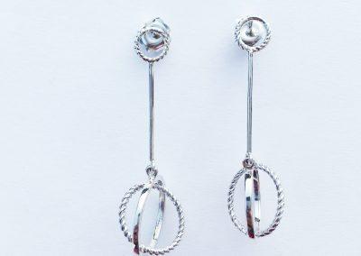 Elliptical Earrings no stones 003